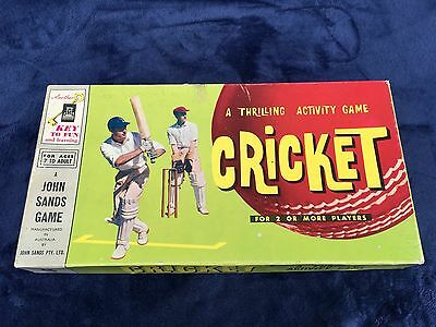 Cricket - A Thrilling Activity Game by John Sands 1960s