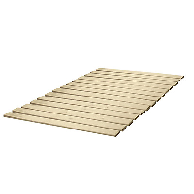 Classic Brands Wooden Bed Slats/Bunkie Board Solid Wood, Any Mattress Type, Quee