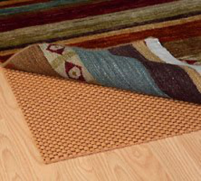 Grip-It All Stop Cushioned Non-Slip Rug Pad for Rugs on Hard Surface Floors, 8 b