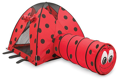 Pacific Play Tents Lady Bug Tent and Tunnel Com