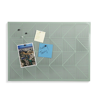 Umbra Trigon Bulletin Board, Mint Green