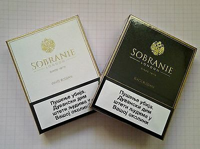 Sobranie White & Black Russian For Collections