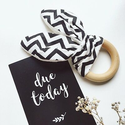 Monochrome Pregnancy Milestone Cards | Designed & Printed in Australia