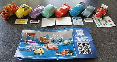Cars 2 China, Kinder, complete set with all bpz.
