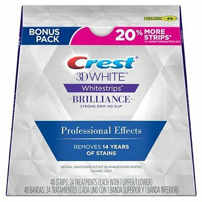 Crest3D Whitestrips Luxe Professional Effects 40 Strips 20 Pouches + BONUS 20%