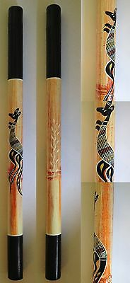 Didgeridoo, Ornamental, Bamboo, Aboriginal Style Artwork