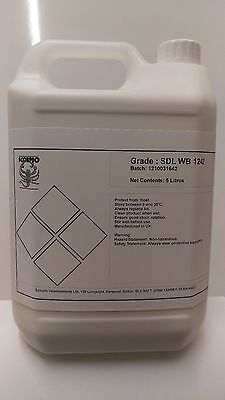 liquid rubber latex - 5 Litres for moulding, dipping, SFX etc,