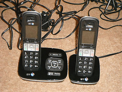 Bt 8500 Twin Digital Cordless Phones With Answering Machine & Call Blocker