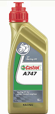 Castrol A747 2 Stroke Racing Oil Semi -Synthetic 1 Litre ,motorcycle ,karts