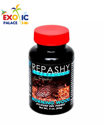 REPASHY MORNING WOOD 85g CIBO MANGIME IN GEL PER PESCI XILOFAGI ACQUA DOLCE FOOD