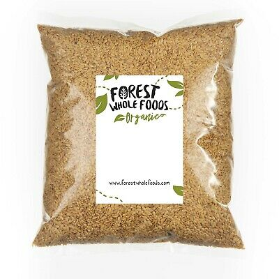 Organic Golden Flaxseed (Linseed Flax Seed) - Forest Whole Foods