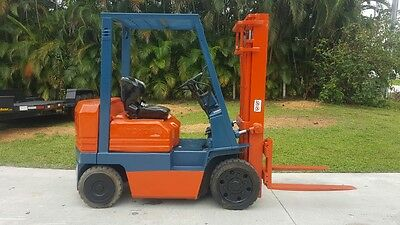 Toyota Forklift Diesel 5000 Lbs 5Fdc25