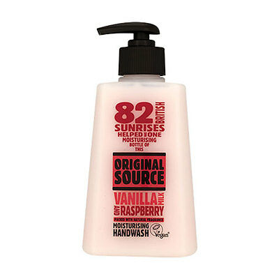 NEW Original Source Shower Gel Vanilla Raspberry 250ml Bath Body Washes