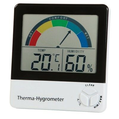 Therma-Hygrometer 810-130 Large Display - Humidity & Temperature - Wet / Dry