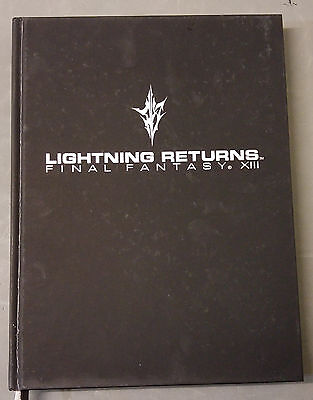 Lightning Returns Final Fantasy XIII Official Guide Book- Collector's Edition