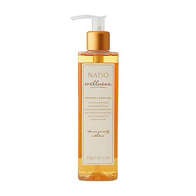 NEW Natio Shower And Bath Gel Wellness 275mL