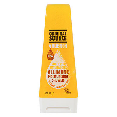 NEW Original Source Shower Gel Skin Quench Pineapple And Coconut Oil 250mL