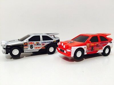 Golden Bright 1/43 Scale Slot Cars Ford Escort Cosworth X2.similar To Artin.