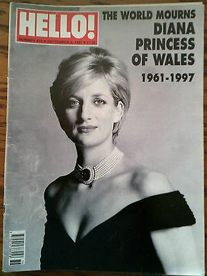 Hello Magazine 474 1997 World Mourns Death of Diana Princess of Wales Special