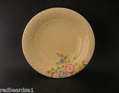 Crown Devon Garden Path Round Vintage China Dish Bowl Art Deco England 1032