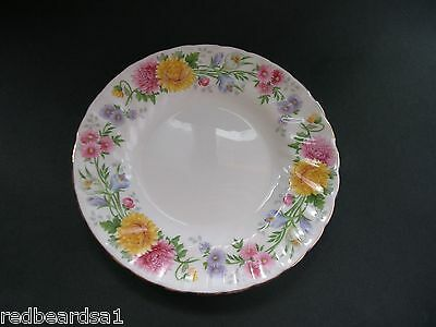 China Replacement Tuscan September Song Chrysanthemum Tea Plate F298 c1940s