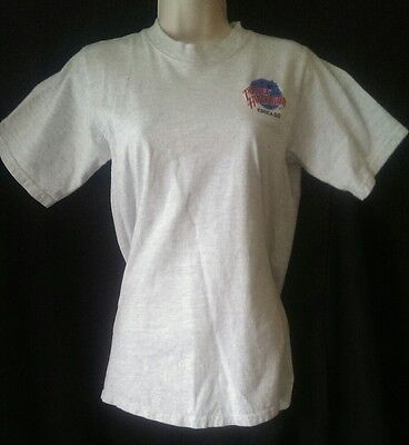 Planet Hollywood T Shirt Chicago Womens Small SS 100% Cotton Bruce Willis Sly