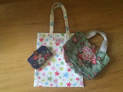 Cath Kidston Bag And Purse Bundle New And Used Floral Stars Free Postage Uk