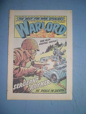 Warlord issue 372 dated November 7 1981