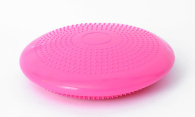 Yoga Equipment Wobble Cushion Balance Fitness Board 35cm Fun for Fitness PINK