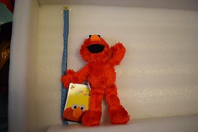 FURCHESTER SESAME STREET SOFT TOY ELMO APPROX 24cm NEW WITH TAGS