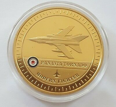 The PANAVIA TORNADO Gold-Plated Medal 24ct Gold-Plated BRAND NEW
