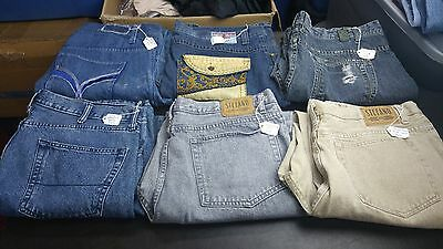Men's Mixed Lot of Six Premium Jeans,Various Brands,Styles all size 40X32