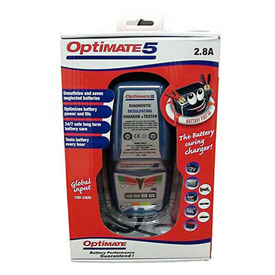 OptiMATE 5  6-step 12V 2.8A battery saving charger-tester-maintainer MT220