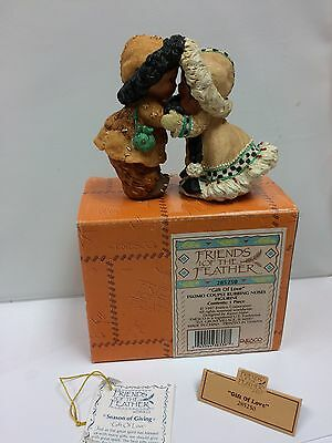 FRIENDS OF THE FEATHER Gift Of Love Eskimo Couple Rubbing Noses 285250 With Box