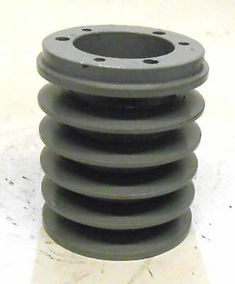 """5 Groove Pulley, Qda30, 3 3/4"""" Od, 2 1/16"""" Bore, 4 3/8"""" Face Width"""