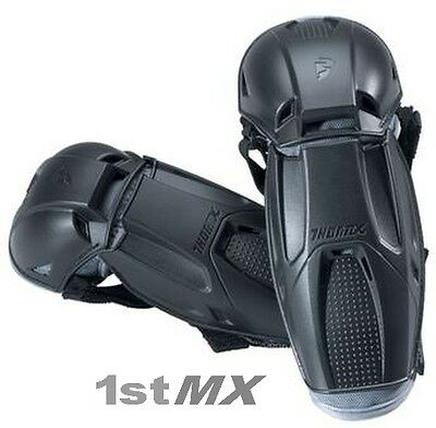 Thor Quadrant MX Offroad Enduro Motocross Race Elbow Guard Black Adults One Size