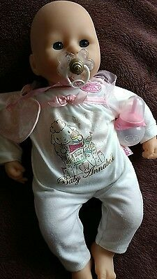 Baby Annabell 2012 edition with outfit, dummy & bottle, great condition!
