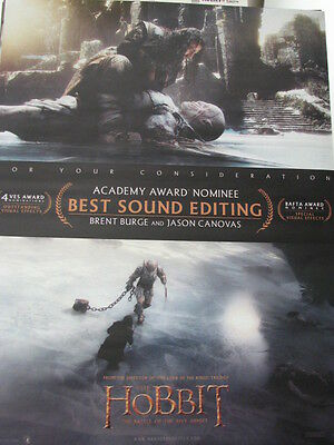 Hobbit Battle of Five Armies  Thorin v AZG   Oscar Ad   a