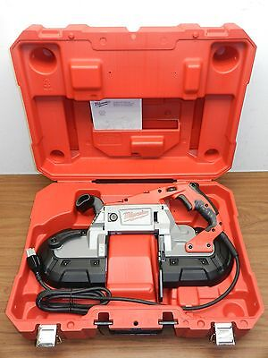 Milwaukee 6232-21 Deep Cut Variable Speed Corded Band Saw Kit New In Case