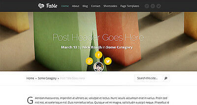 Website/Blog, Fable Theme from Elegant Themes - $99 Only, 5-day delivery!