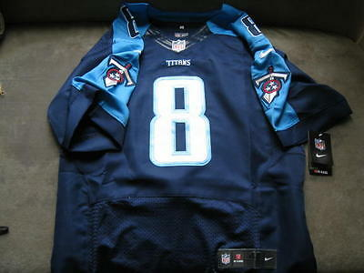 Tennessee Titans Marcus Mariota Home Jersey Size 44 L