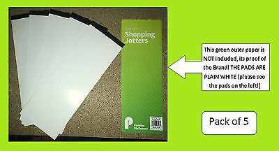 Pennine Lined Memo Shopping List Pad Notebook Office School 34 Pages