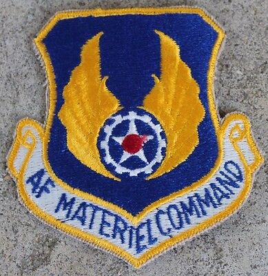 New USAF Materiel Command Patch, Sew-On, Full Color
