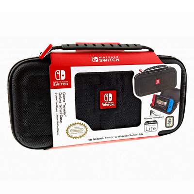 Nintendo Switch Game Traveller Deluxe Black Carry Case NEW