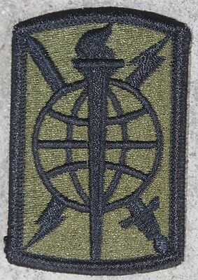 New 500th Military Intelligence Brigade Patch, Sew-On, Subdued