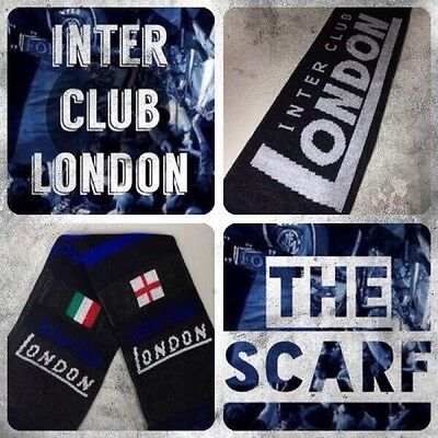 FC INTER Club LONDON Official Double Printed SCARF SCIARPA