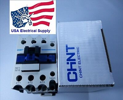 New Schneider LC1D32 Replacement Chint Contactor NC1-3210 Coil 110V