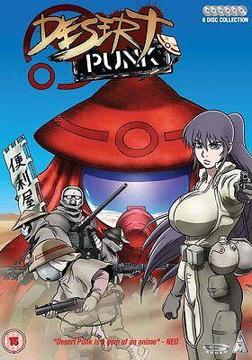 Desert Punk Complete Collection DVD, 6-Disc Set;  BRAND NEW, FACTORY SEALED