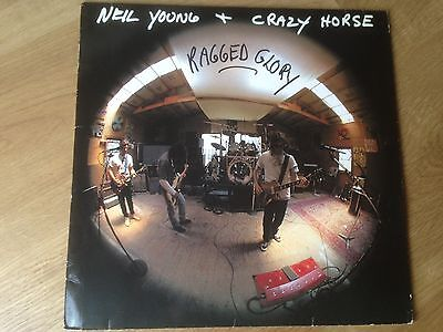 """NEIL YOUNG ragged glory """"Rare Error in vinyl, unique in the world""""1990 Germany"""