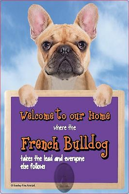 Scottish Collectables French Bulldog 3D Lead Hanger Wall Plaque